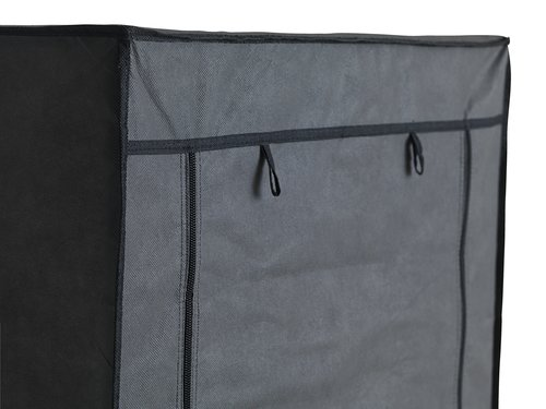 Garde-robe DAMHUS 60x150 gris foncé