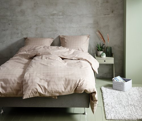 Duvet cover TANJA Yarn dyed 200x220