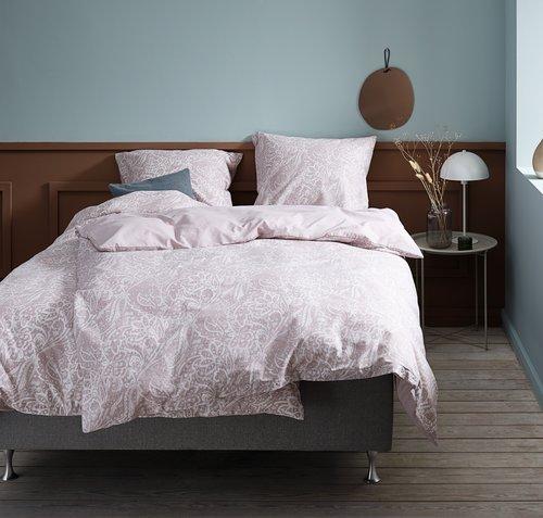Lenjerie de pat+cearsaf AMALIE 140x200