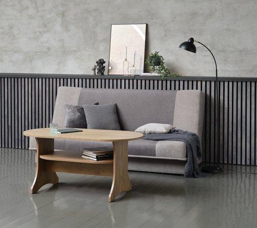 Καναπές-κρεβάτι HEJLS γκρι