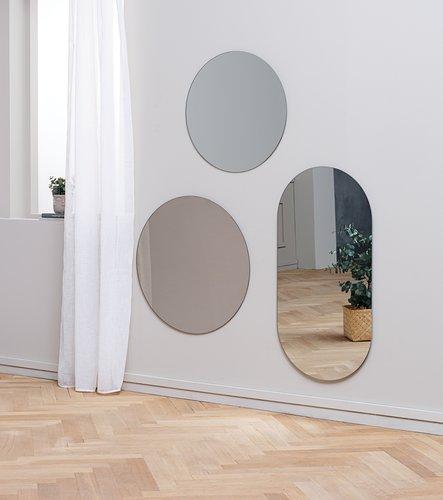 Mirror SORTLAND D60 clear