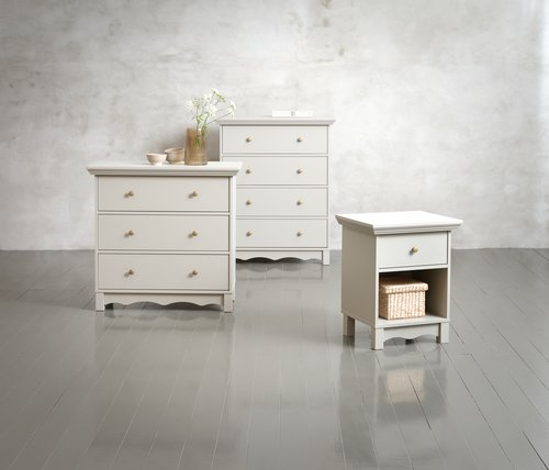 3 drw chest BAKKEN grey