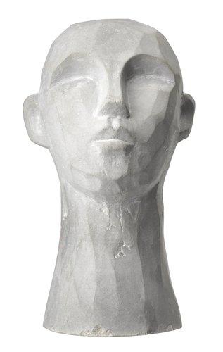 Декор TORRE в.15см сірий