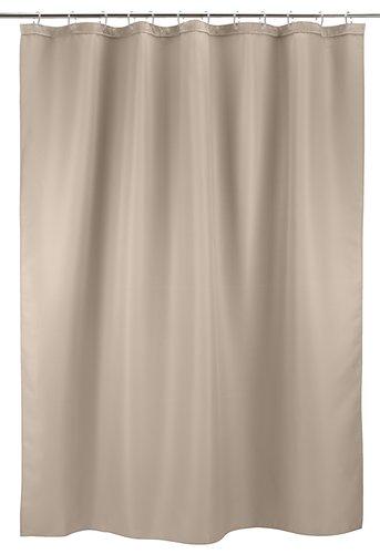Shower curtain SIBO 180x200 waffle beige
