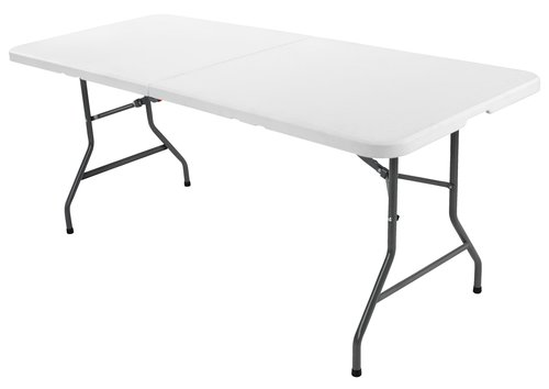 Folding table KULESKOG W75xL180 white