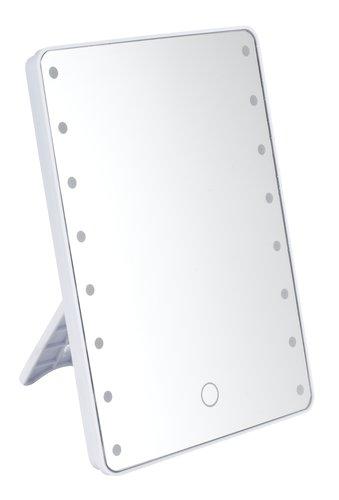 LED Spiegel MARIEFRED H22cm weiß