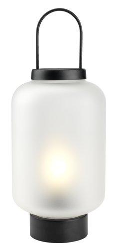 Laterna ALUNIT Ø17xV38 cm z LED