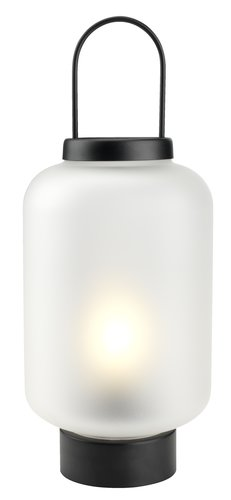 Lykta ALUNIT Ø17xH38cm m/LED
