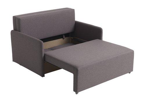 Καναπές-κρεβάτι UDBJERG ανοιχτό γκρι