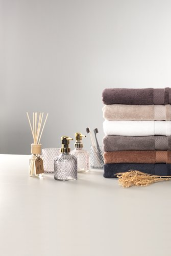 Guest towel NORA grey