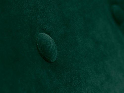 Fauteuil EGEDAL velours vert