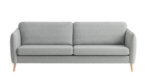Soffa AARHUS 3-sits varmgrå