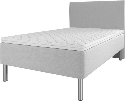 Sänggavel 140x115 H10 PLAIN grå-27