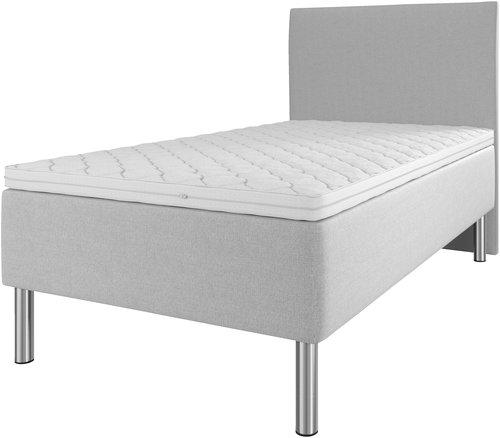 Sänggavel 120x115 H10 PLAIN grå-27
