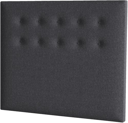 Sänggavel 140x122 H70 BUTTONS grå-26