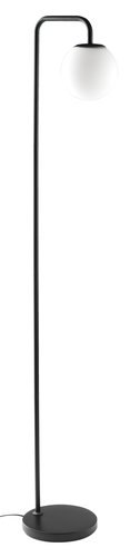 Lattialamppu ADRIAN K145cm musta