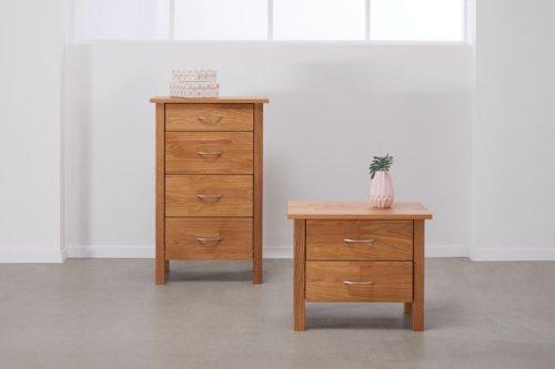 COD KAGERUP 4 drawers oak