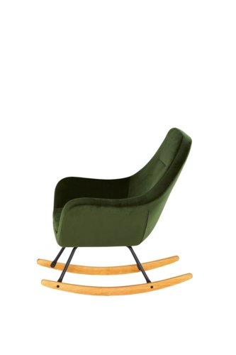Sedia a dondolo ASSERBO verde