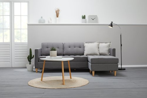 Tavolino TAPS 70x70 bianco