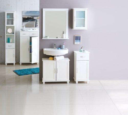 Specchio bagno SKALS 67×78 bianco