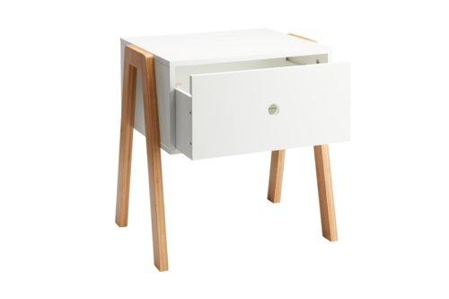 Nachttisch KETTINGE 1 Schublade weiß