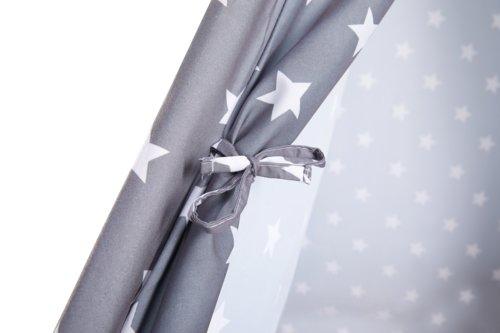 Tenda da gioco SMILLA 160x120 stelle