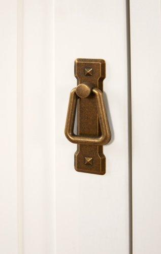Anrichte WIEN 4 Türen weiß/braun