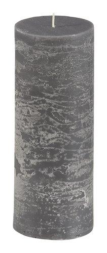 Candela EILEF Ø7xH18cm grigio scuro