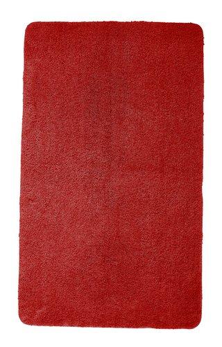 Badematte UNI DE LUXE 65x110 rot