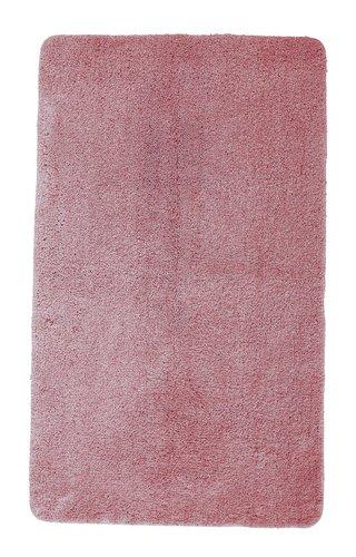 Tapis bain UNI DE LUXE 65x110 vieux rose