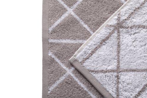 Asciugamano ospite GRAPHIC grigio