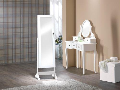 Spiegelschrank LONE 145x42 weiß