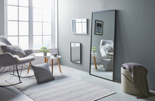 Spiegel SOMMERSTED 40x55 schwarz