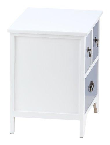 Cassett. KLIPPEDE 3 cass. bianco/grigio