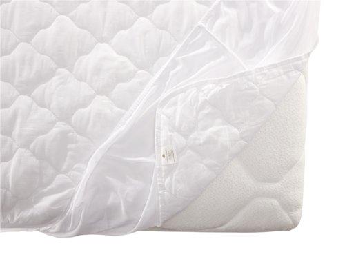 Protector colchón 90x190/200cm blanco