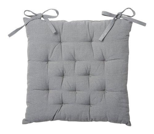 Coussin de chaise MARLEY 40x40x5 gris