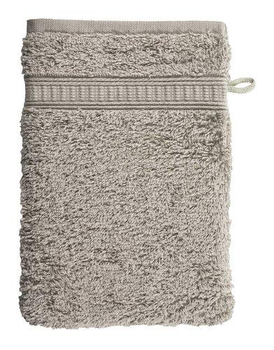 Waschhandschuh KRONBORG DE LUXE grau