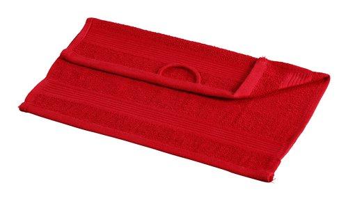 Toalla tocador CLASSIC LINE rojo