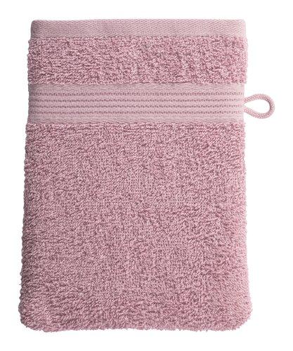 Luva de banho CLASSIC LINE rosa