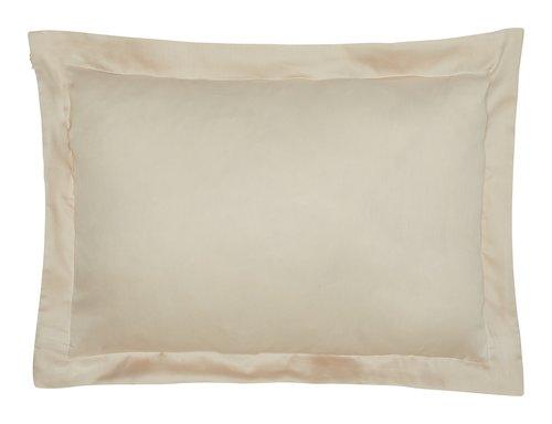 Funda almohada satén 45x67 gris KRONBORG