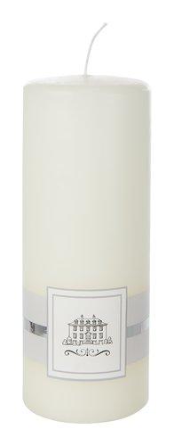 Bougie pilier EJNAR Ø6xH15cm crème