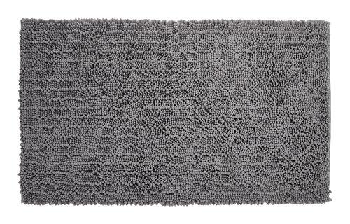 Tapis bain ROSVIK 65x110 gris clair