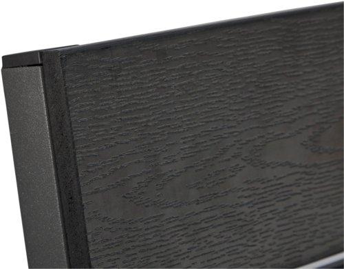 CHICAGO L150cm schwarz+4 FALKERSLEV grau