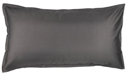 Funda almoh satén 45x110 gris KRONBORG