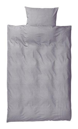 Parure de lit KATJA 140x200 gris