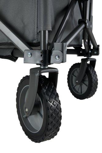 Bollerwagen RAVN Stahl/Polyester grau