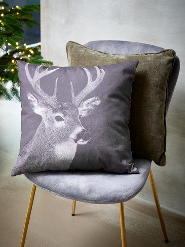 Декоративная подушка LIN 45x45 см олень