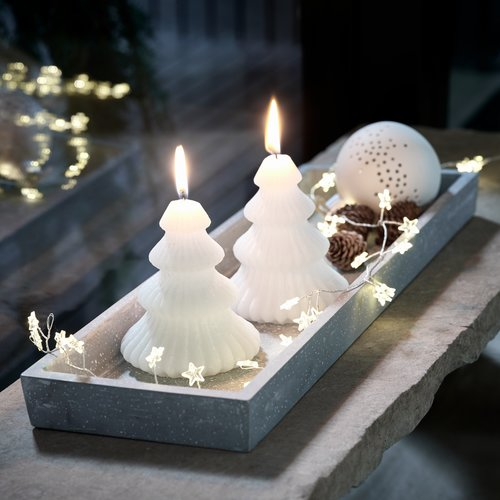 Свічка ALMANDIN д.9 см в.12 см асорт.