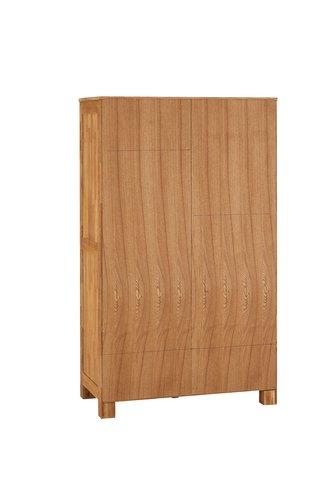 Kleiderschrank OLDE 120x200 cm eiche