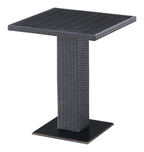 Bistro table THY W60xL60 black